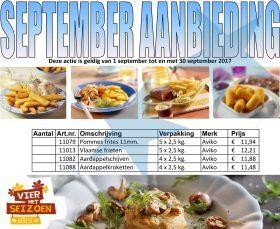 September aanbieding Aviko