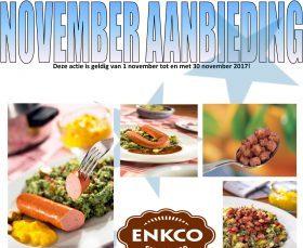november aanbieding Enkco 2017