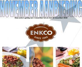 november aanbieding Enkco