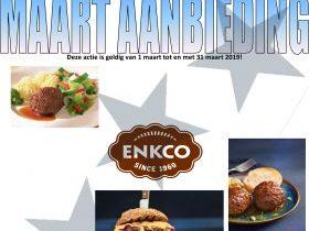 maart aanbieding Enkco