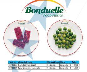 05. 2019 september aanbieding Bonduelle